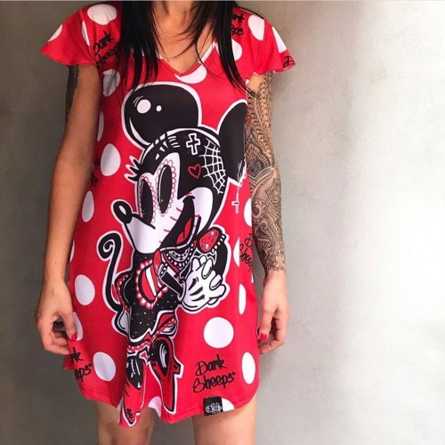 VESTIDO MINNIE DARK