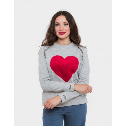 SUDADERA BIG HEART