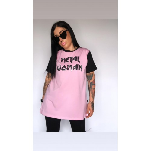 CAMISETA METAL WOMAN