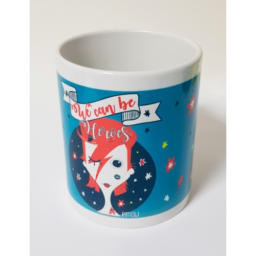 TAZA BOWIE HEROES